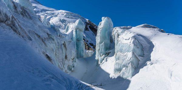 Eistürme im Triftgletscher