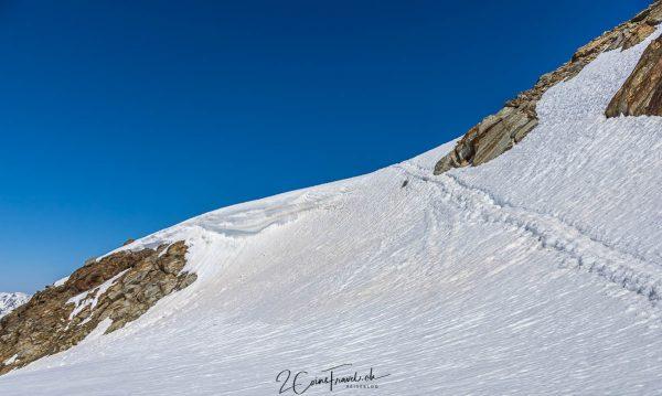 Weg zur Bergstation