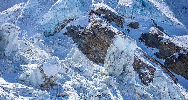 Seracs Gletscher
