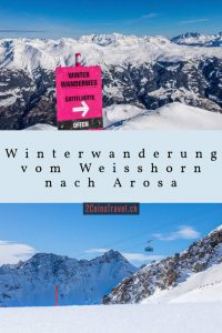 Pinterest Winterwanderung Arosa