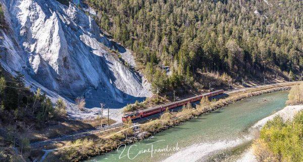 Eisenbahn Rheinschlucht