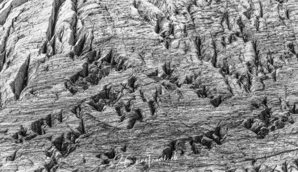 Claridenfirn Gletscherspalten