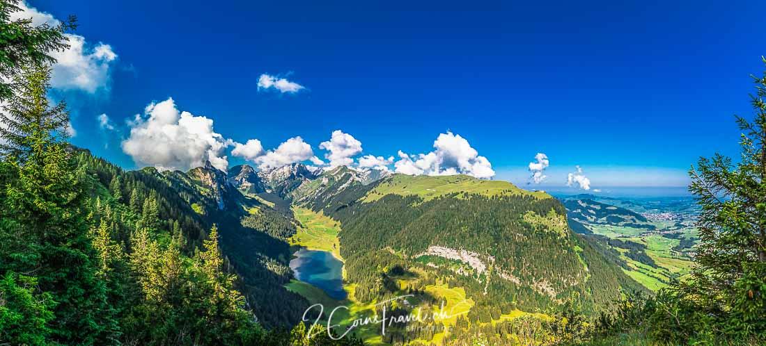 Panoramablick Alpstein
