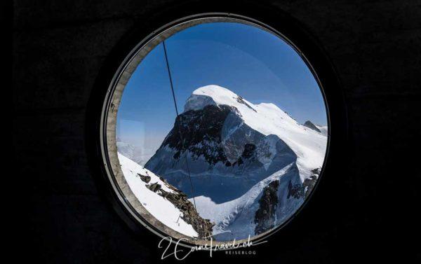 Blick auf Breithorn