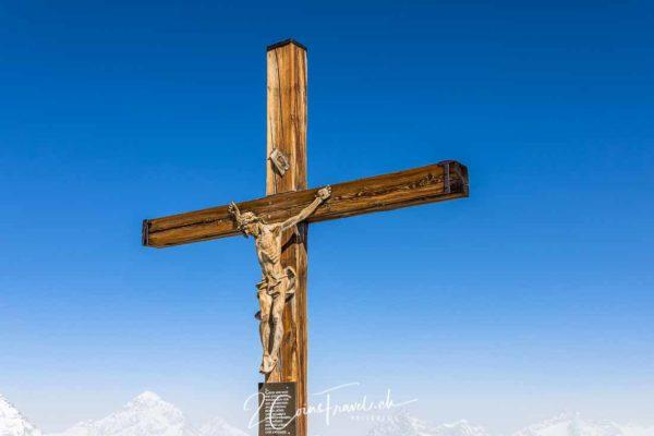 Kreuz auf dem Kleinen Matterhorn