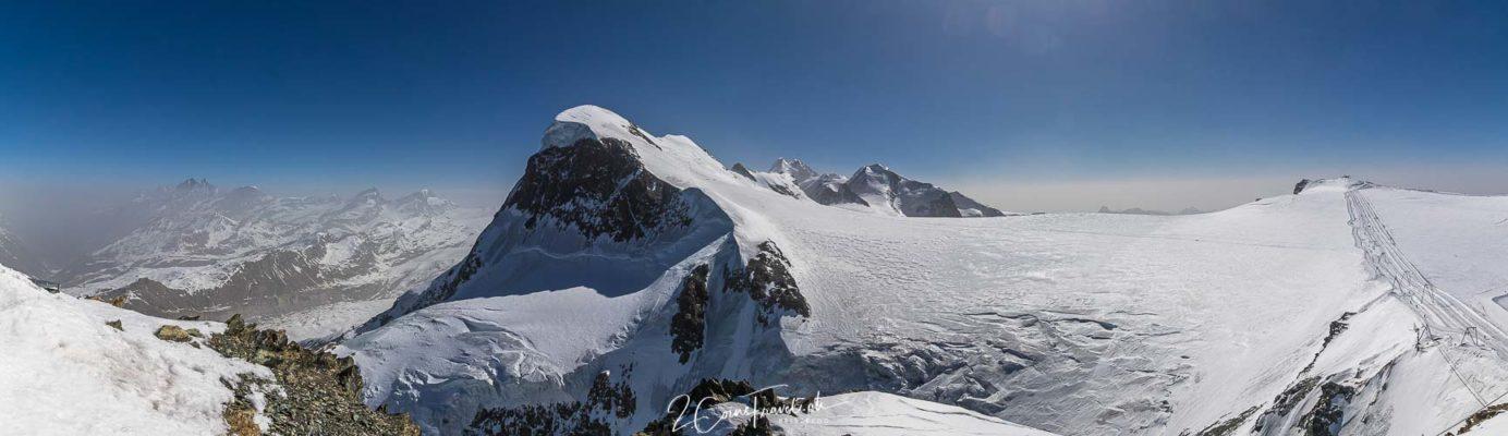 Panoramabild Klein Matterhorn