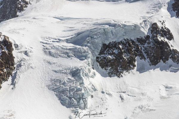 Spalten Klein Matterhorngletscher