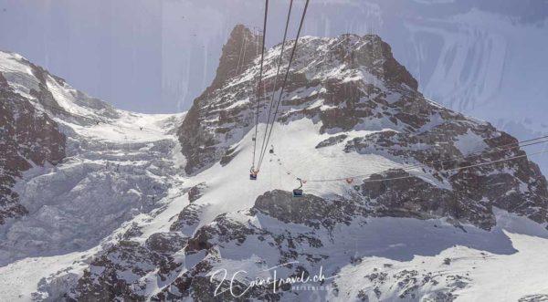 Bergfahrt Klein Matterhorn