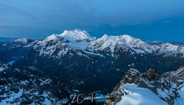 Blaue Stunde Mont Fort