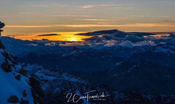 Sonnenaufgang Mont Fort