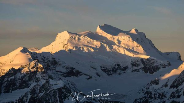Alpenglühen Grand Combin