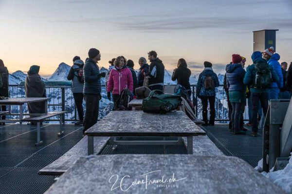 Sonnenaufgangsfahrt Mont Fort