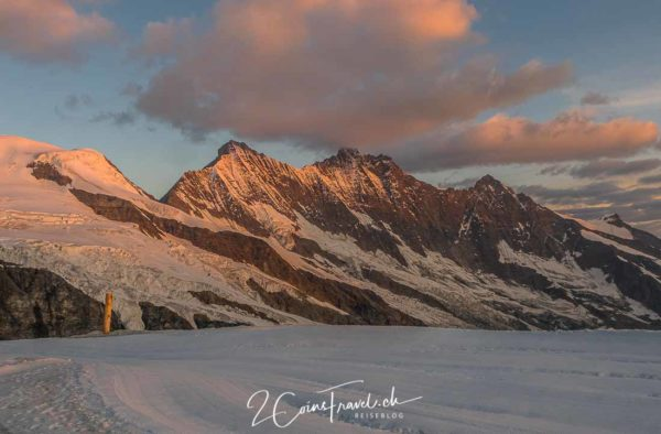 Alpenglühen Mittelallalin