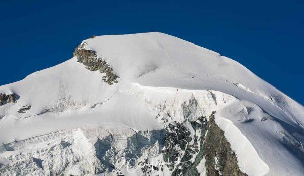 Allalinhorn und Gletscher