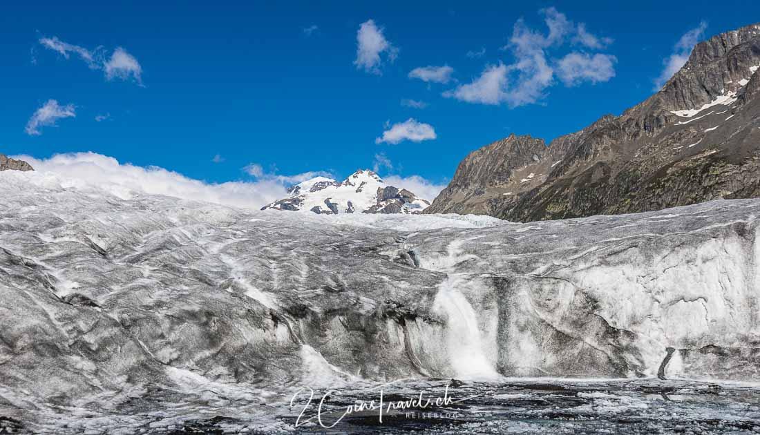 Gletschersee Aletschgletscher