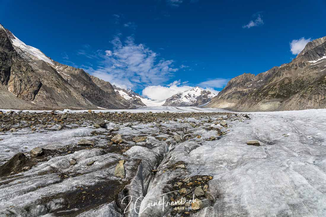 Blick über den Aletschgletscher