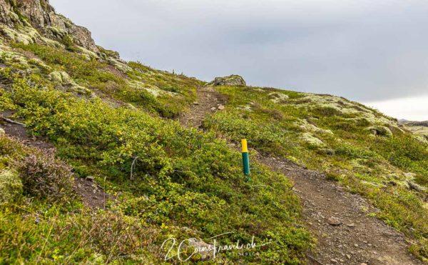 Wanderweg Skálafelljökull
